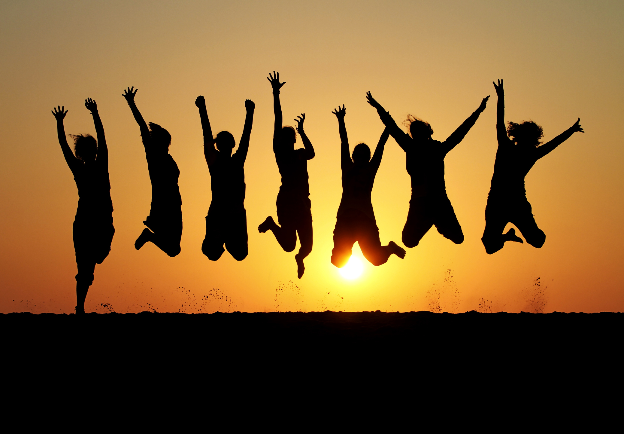 excited people jumping - 5 Ways a Web Portal Can Excite Your Clients