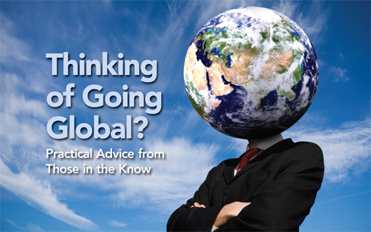 going global - Advice for Going Global with Managed Accounts