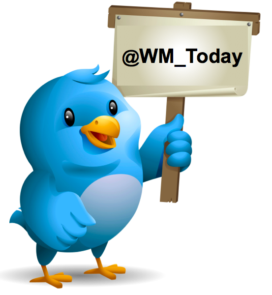 twitter wm today - WM Today now has its own Twitter Handle: @WM_Today