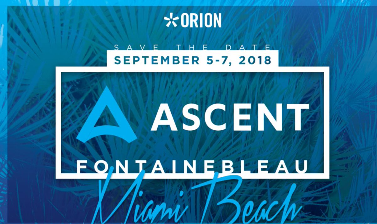 Orion Advisor Conference